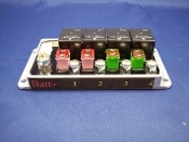 billet 4 relay 70 amp board