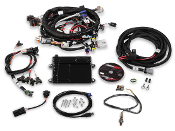 HOLLEY HP EFI ecu & harness ls2/ls6 58x bosch injector , ntk02