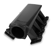 SNIPER EFI FABRICATED INTAKE MANIFOLD ls1/2/6 102mm black/silver
