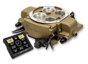 HOLLEY SNIPER EFI QUADRAJET™ - CLASSIC GOLD FINISH