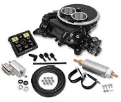 HOLLEY SNIPER EFI 2300 SELF-TUNING MASTER KIT - BLACK CERAMIC FI