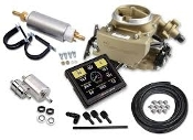 HOLLEY SNIPER EFI 2GC LARGE BORE MASTER KIT- CLASSIC GOLD FINISH